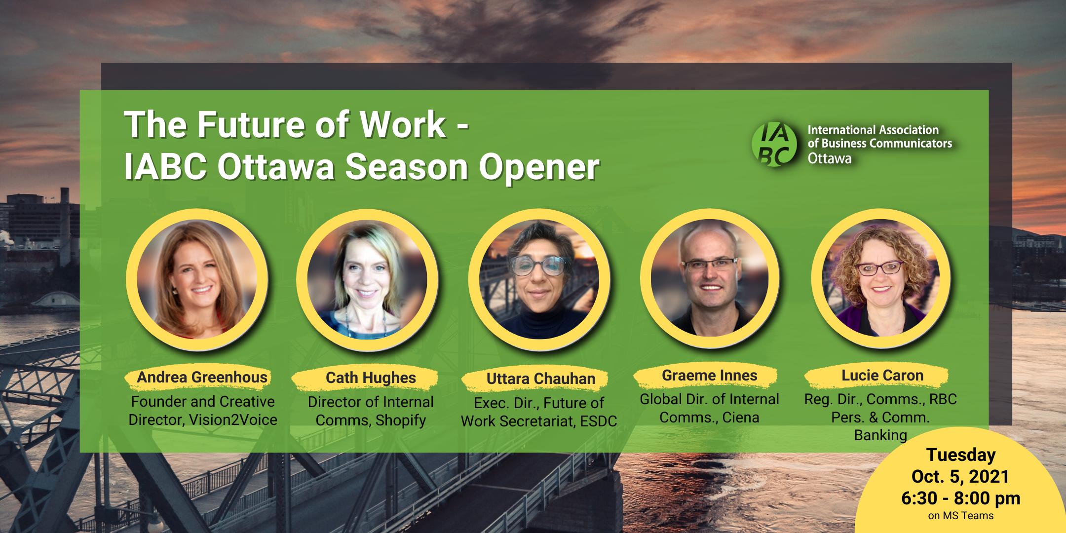IABC Ottawa 2021 Season opener